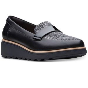 Clark's Collection Sharon Gracie platform loafers